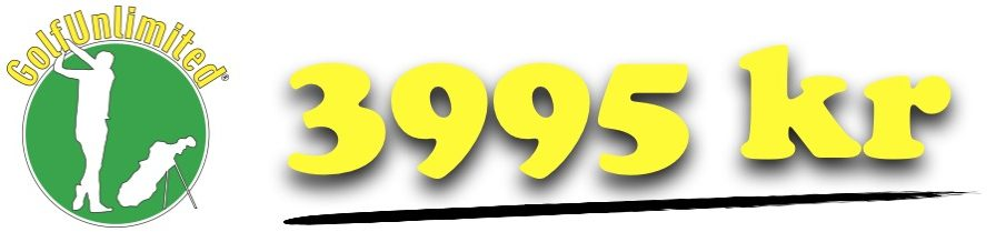 GolfUnlimited – 3995 kr